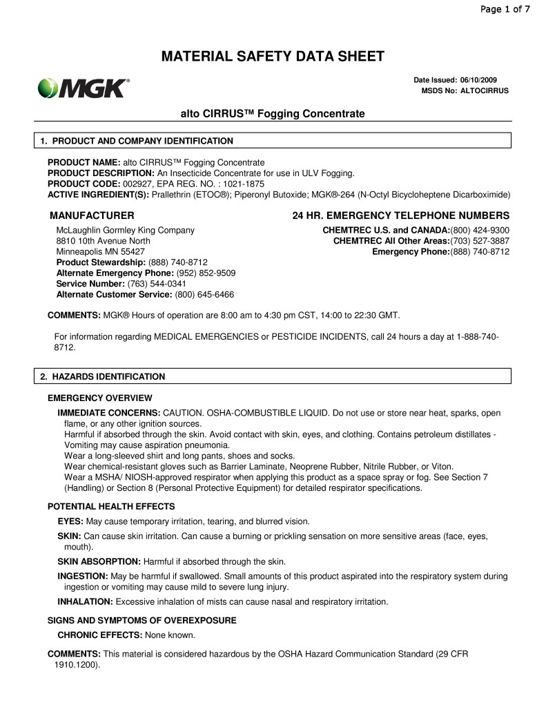 ALTOCIRRUS-FOG-CONCENTRATE-MSDS-page-0