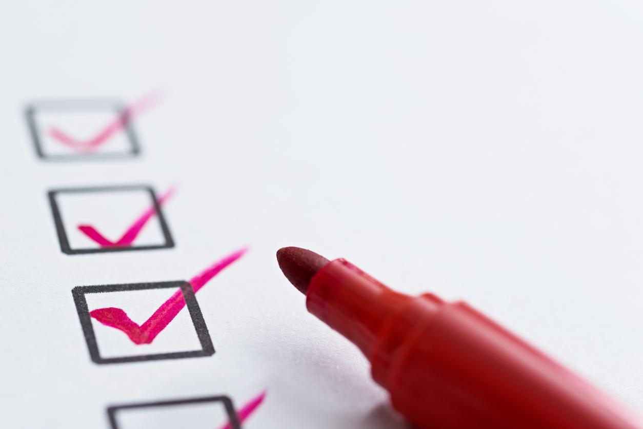pest checklist